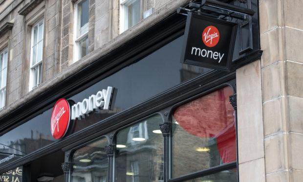 A Virgin Money branch.