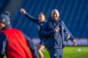 Scotland head coach Gregor Townsend was all smiles at the captain's run ahead of a crucial game for him against England.
