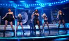 The Pussycat Dolls on Ant & Dec's Saturday Night Takeaway on February 22.