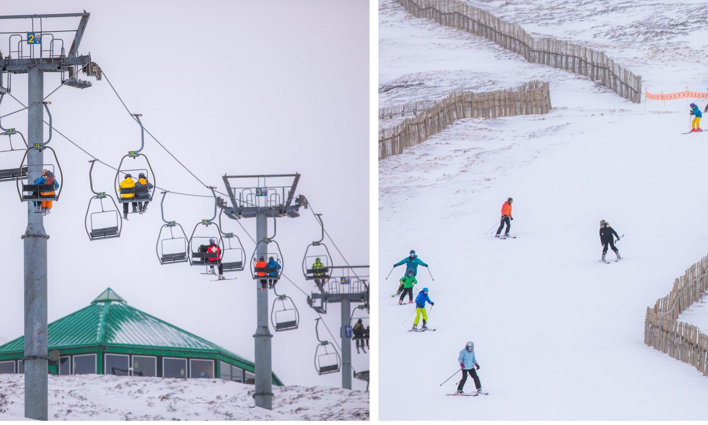 Glenshee Ski Centre on Wednesday, February 19.