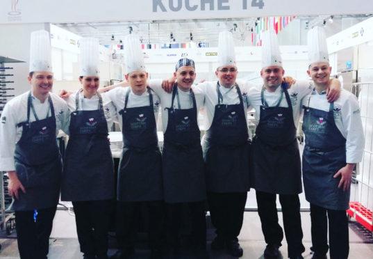 Team Scotland in Stuttgart