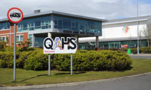 Queen Anne High School, in Dunfermline, has recorded a second case of Covid-19.