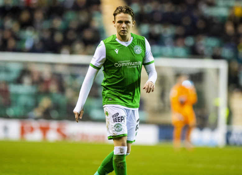 Scott Allan is in his third spell at Easter Road