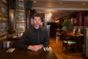 Graeme Gersok of the Townhouse Hotel in Arbroath.