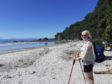 Helen Robertson is stuck in New Zealand.