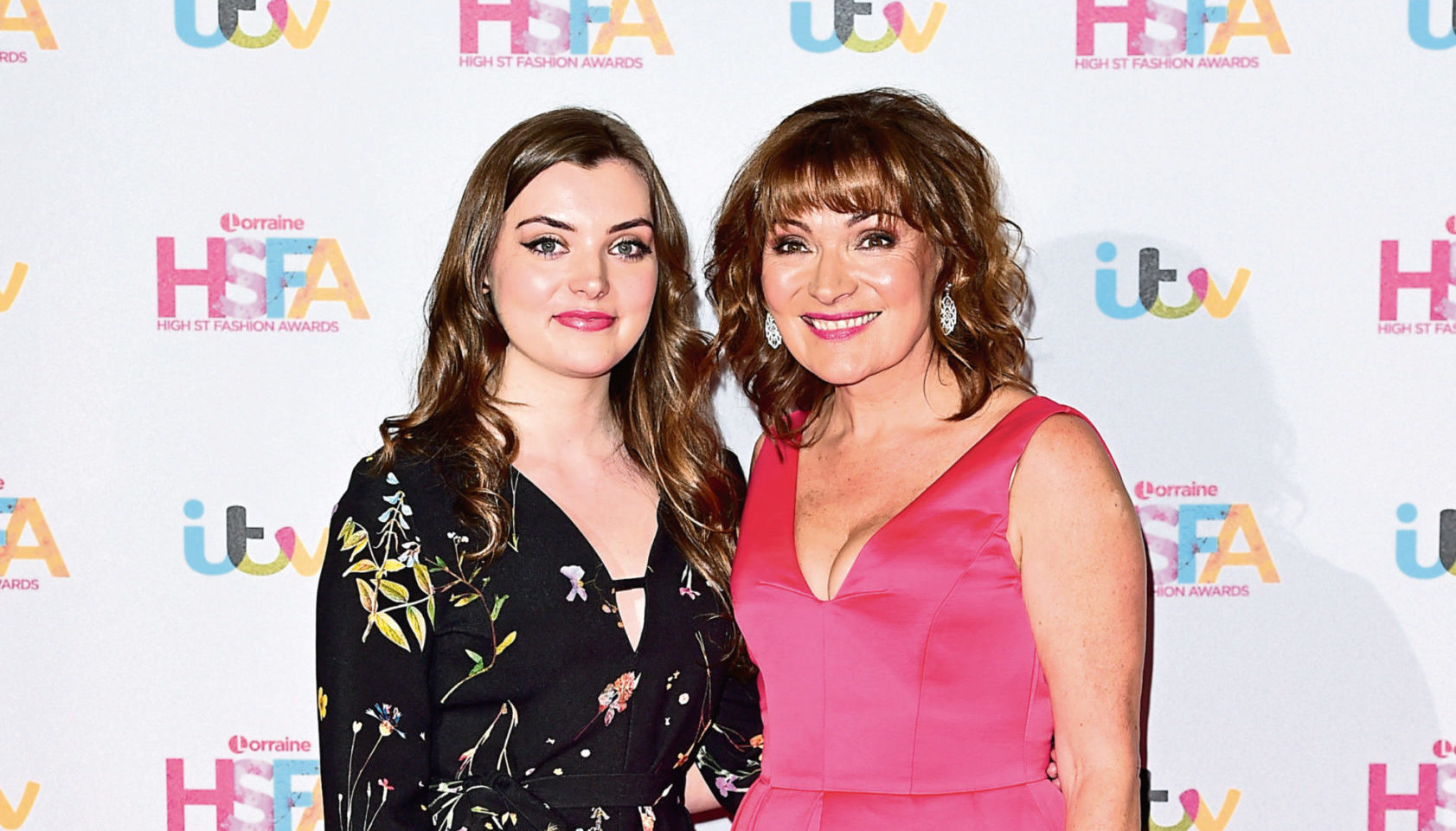 Lorraine Kelly and her daughter Rosie.