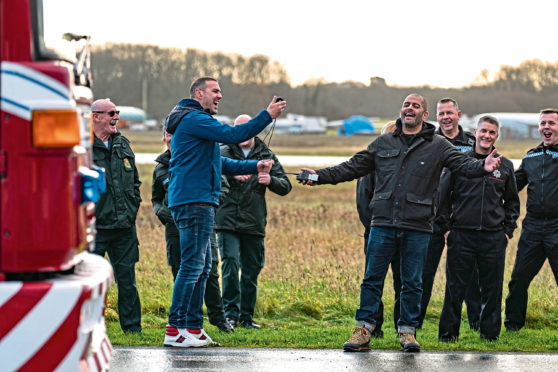 Top Gear hosts having a laugh - as usual!
