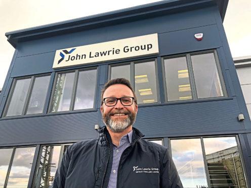 John Lawrie Metals' director of projects and decom Julian Foley