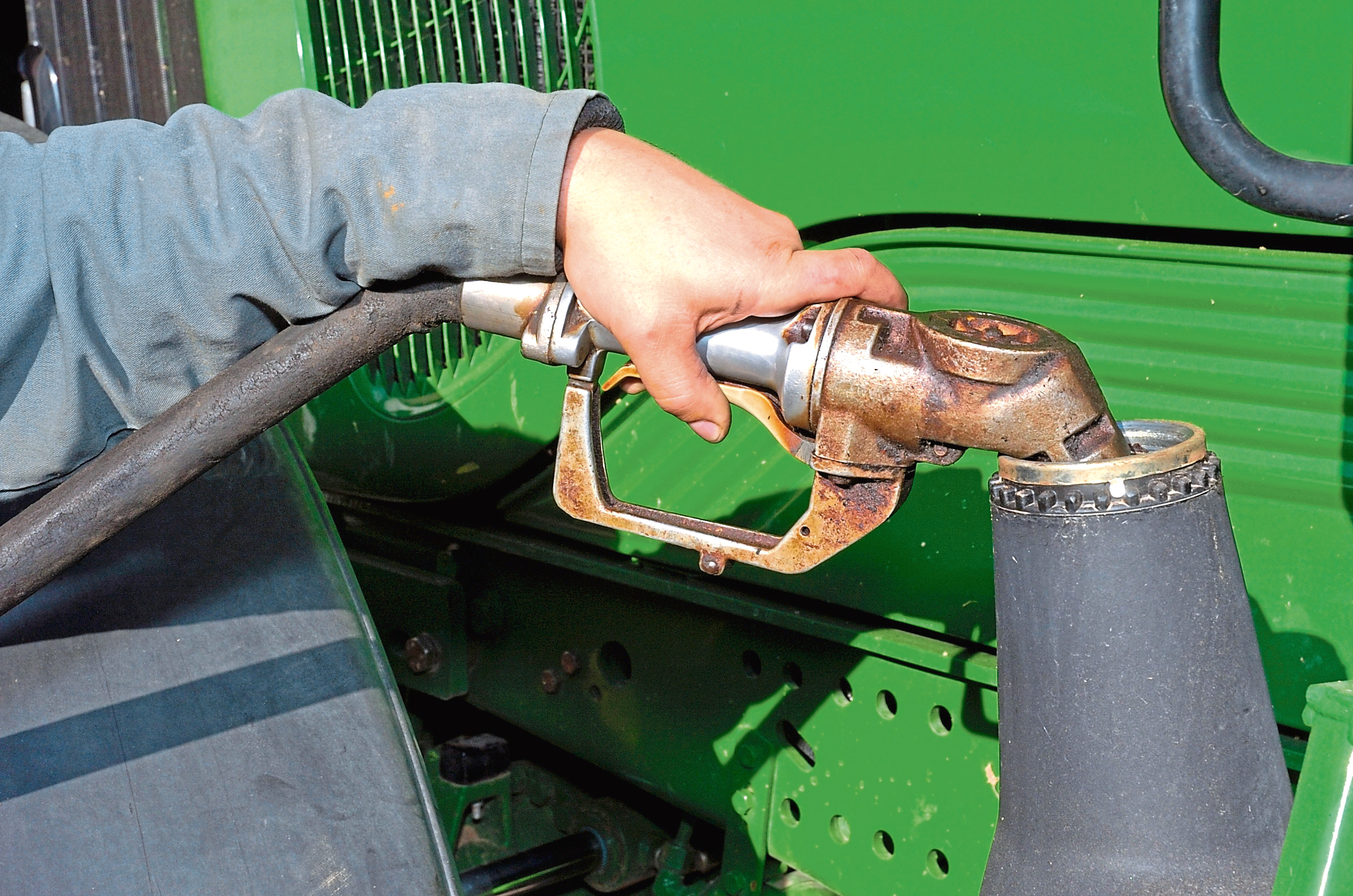 It has been feared the chancellor is planning to scrap the fuel tax break.