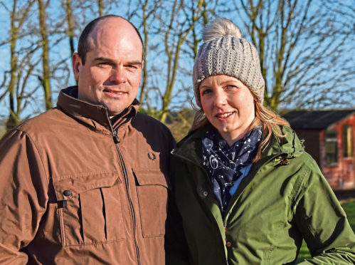 Craig and Claire Grant  are looking forward to honing their skills and learning new things on the three-year programme.