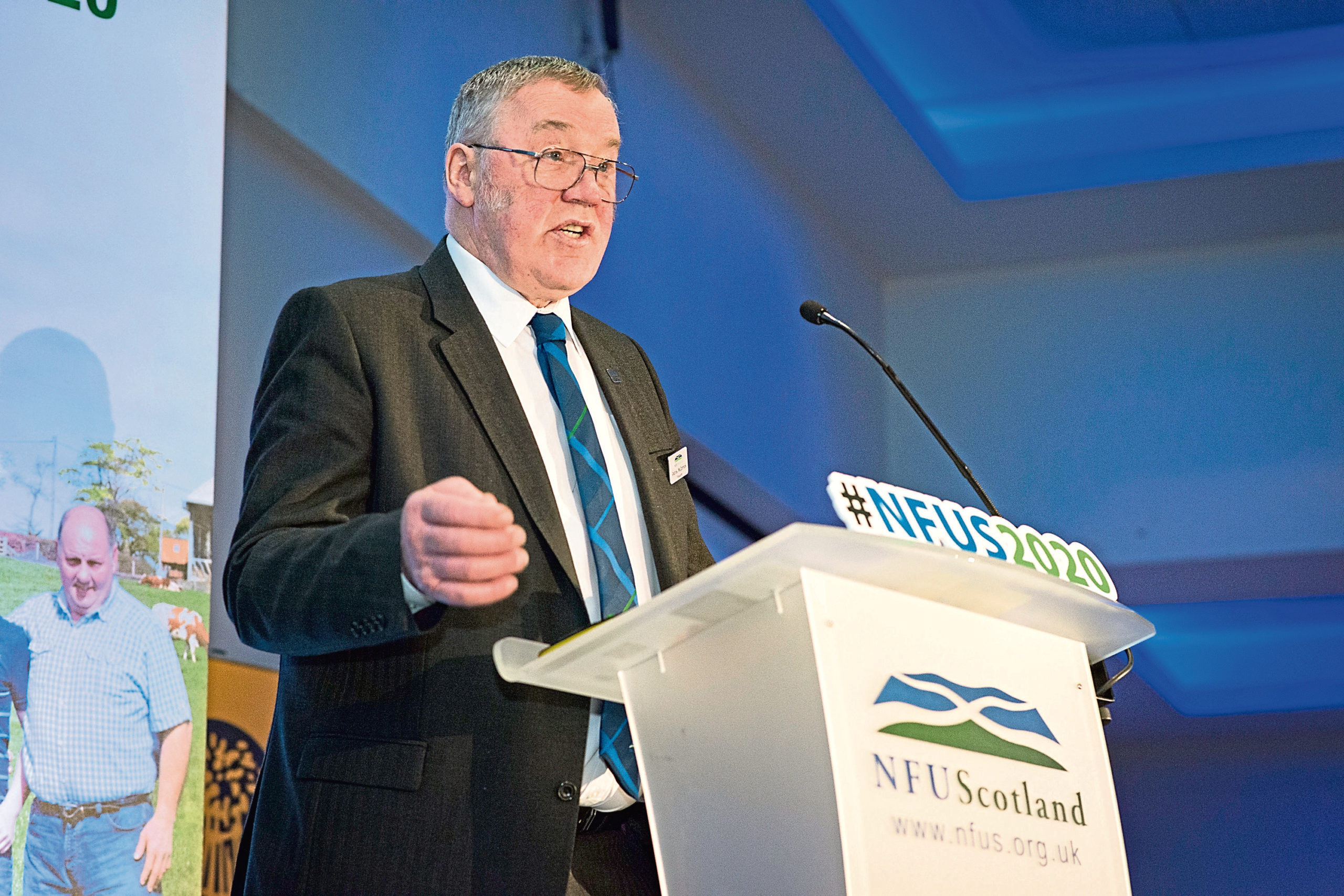 NFUS president Andrew McCornick has asked the union's membership to cancel meetings and gatherings until further notice.