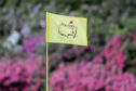 Mandatory Credit: Photo by David J Phillip/AP/Shutterstock (10582229a) The flag on the 13th hole blows in the wind during the first round for the Masters golf tournament in Augusta, Ga. Augusta National decided, to postpone the Masters because of the spread of the coronavirus. Club chairman Fred Ridley says he hopes postponing the event puts Augusta National in the best position to host the Masters and its other two events at some later date. Ridley did not say when it would be held Masters Postponed Golf, Augusta, United States - 11 Apr 2019