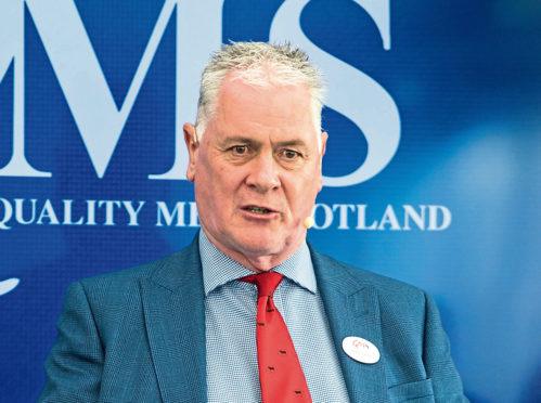 Alan Clarke, chief executive of QMS.
