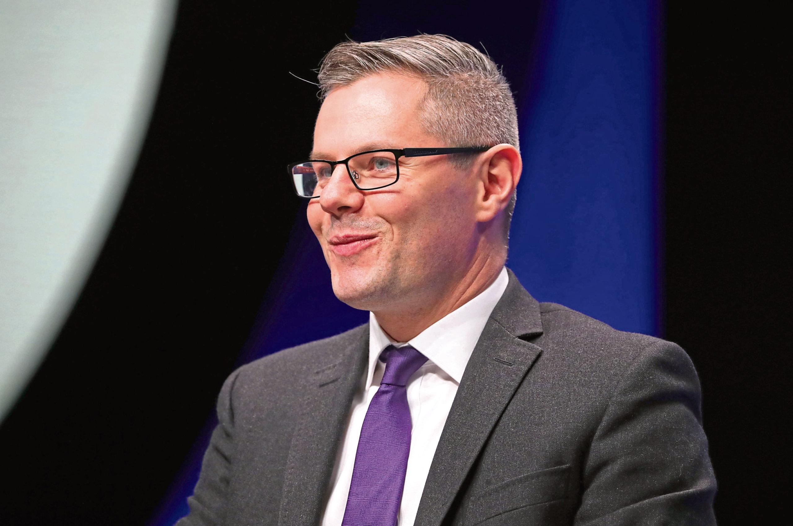 Derek Mackay, the former finance secretary.