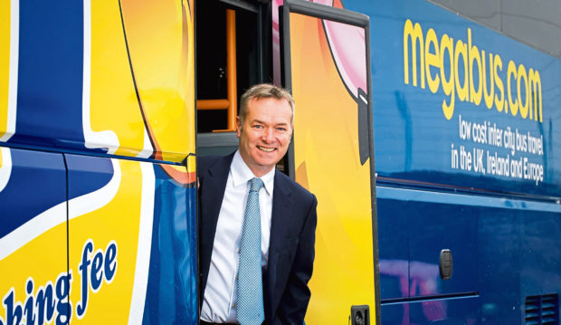 Stagecoach chief executive Martin Griffiths.