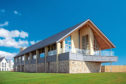 The golf centre at Carnoustie links.