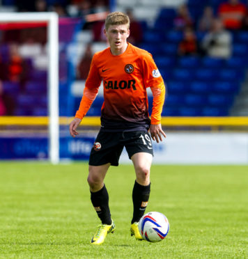 Ryan Gauld in action during his Dundee United days