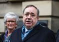 Alex Salmond speaks outside the High Court in Edinburgh after he was cleared of attempted rape and a series of sexual assaults.