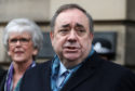 Alex Salmond speaks outside the High Court in Edinburgh.