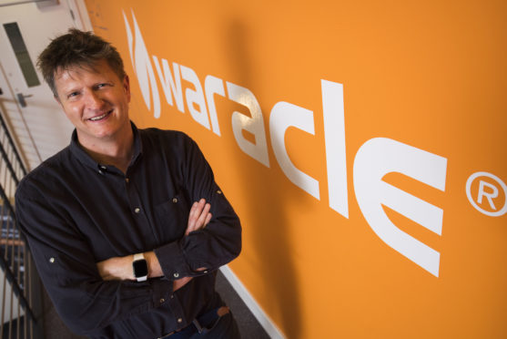 Waracle ceo Chris Martin.