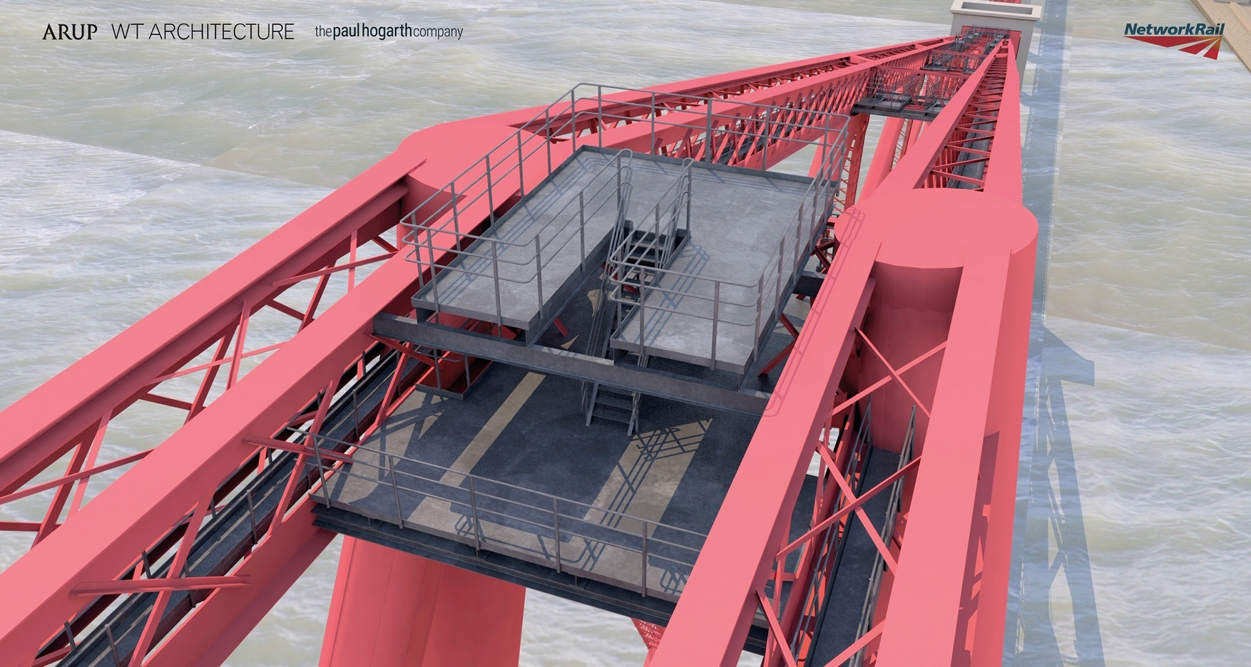 Plans for a viewing platform on top of Forth Bridge have been approved.