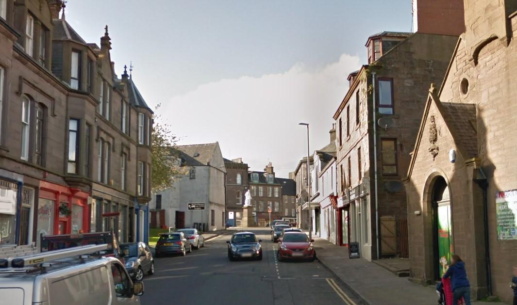 George Street, Montrsoe (stock image).