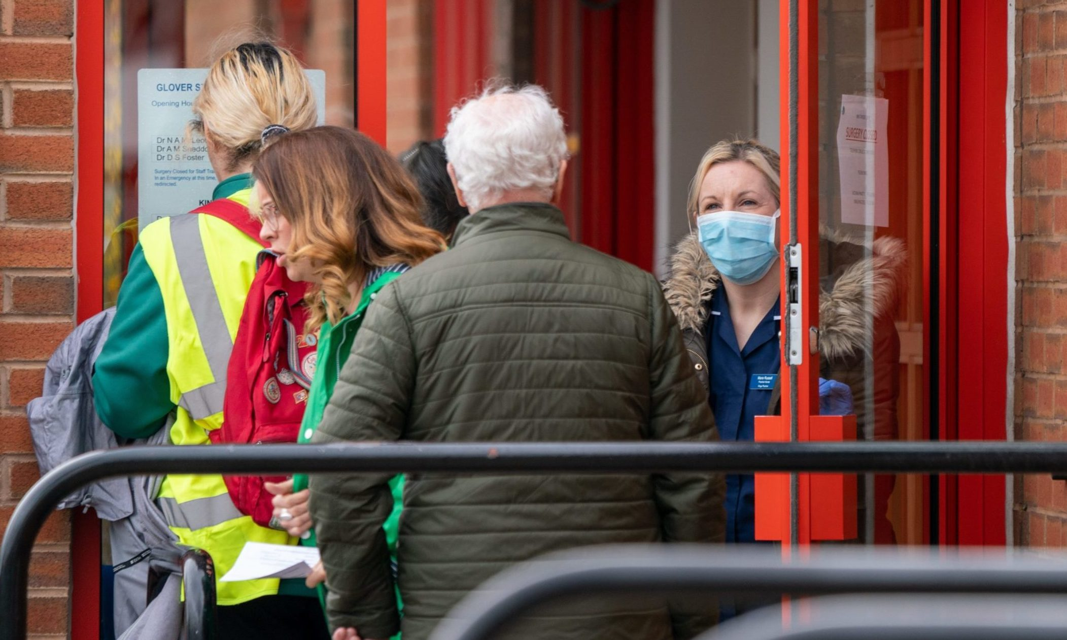 Patients being turned away at Glover Street Surgery, Perth.