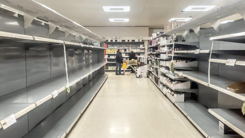 Panic-buying has taken place during the coronavirus crisis.