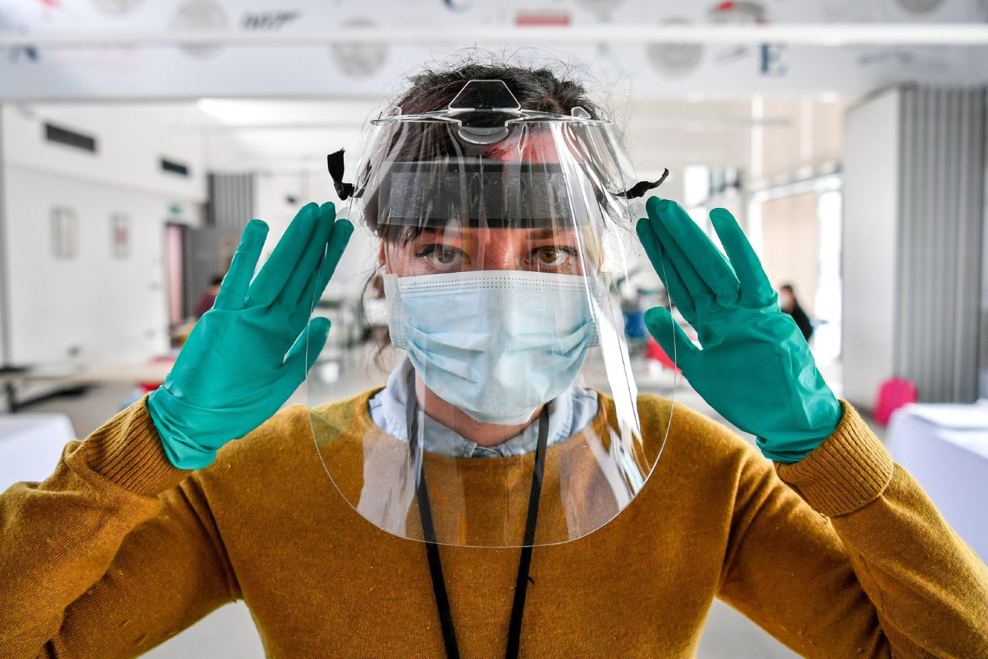 Health professionals at PRI say they have been left to treat patients who may Covid-19 with out of date PPE. (library photo)