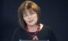 Cabinet Secretary for Health and Sport Jeane Freeman speaks during a coronavirus briefing.