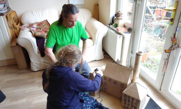 Mark Nixon home educating his daughter