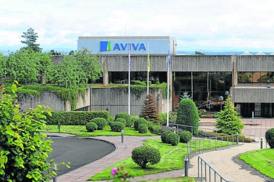 Aviva offices, Pitheavlis, Perth