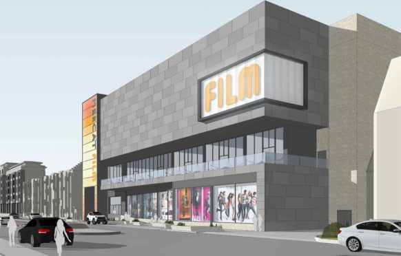 Artist's impression of what the cinema complex could look like.