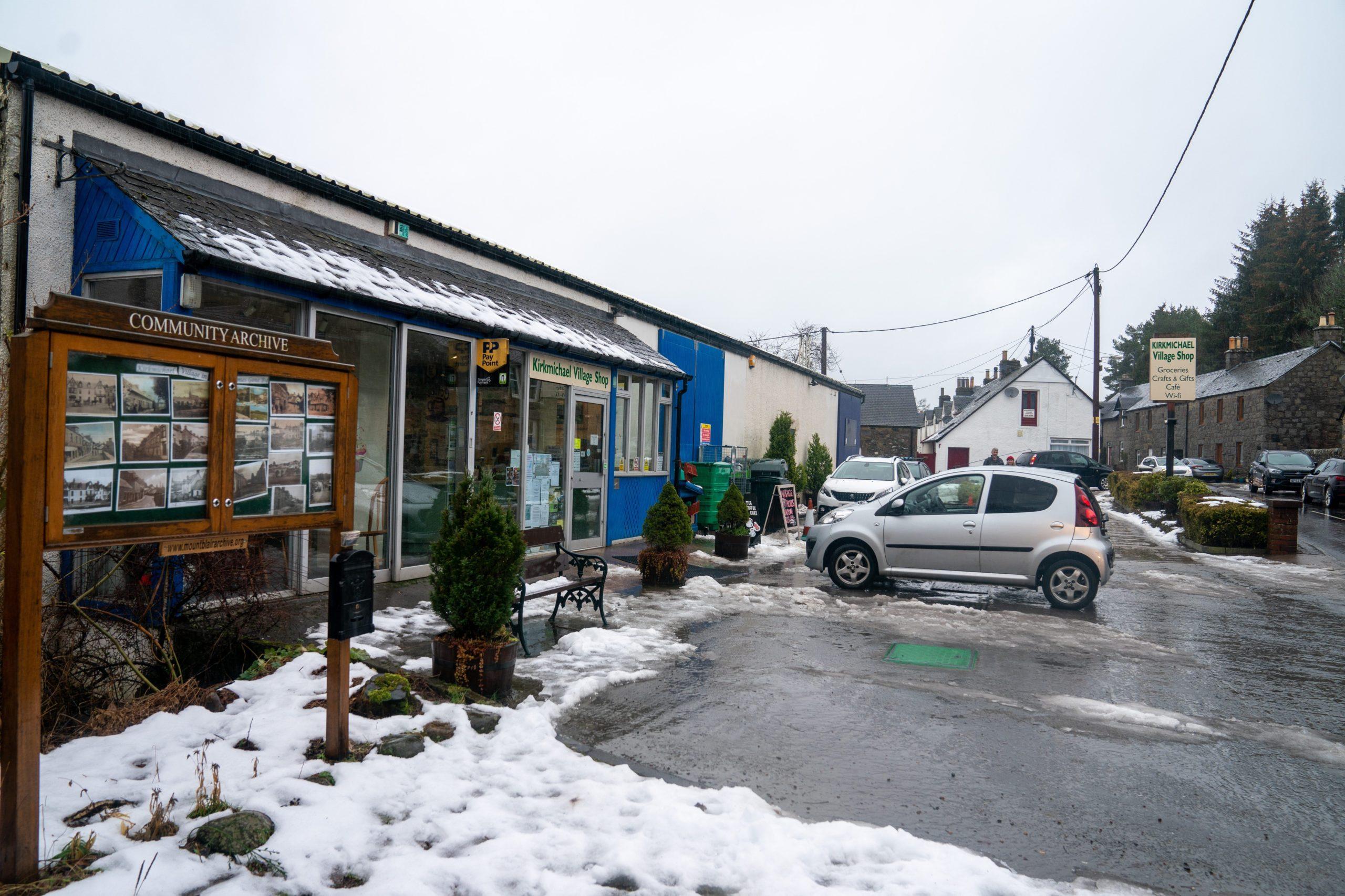 Kirkmichael village shop.