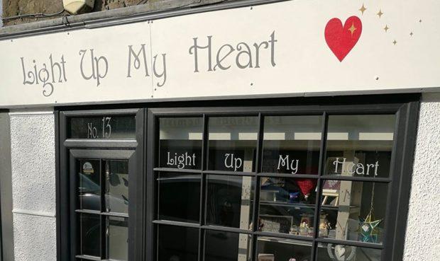 Light Up My Heart in Milnathort.