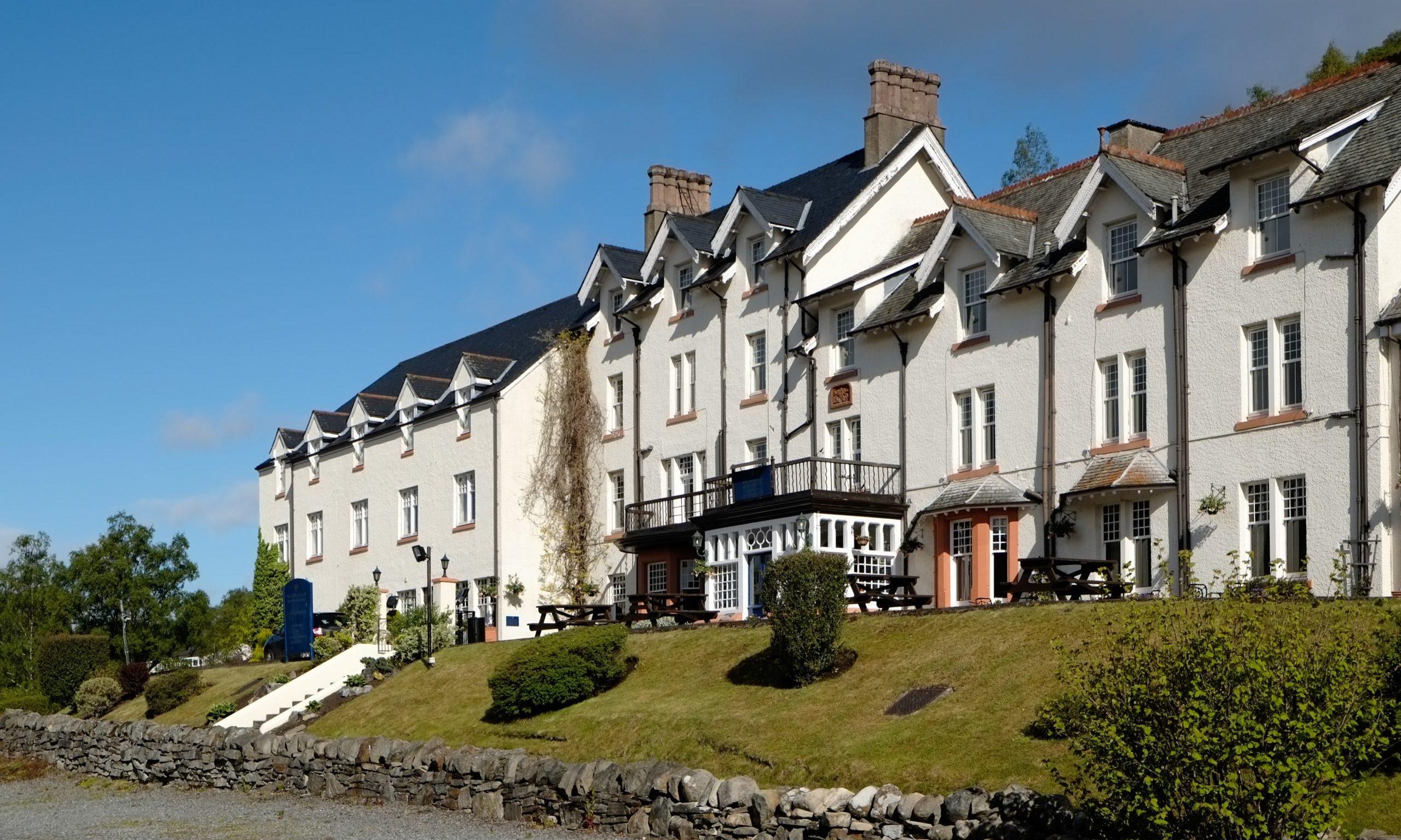 The Loch Rannoch Hotel.