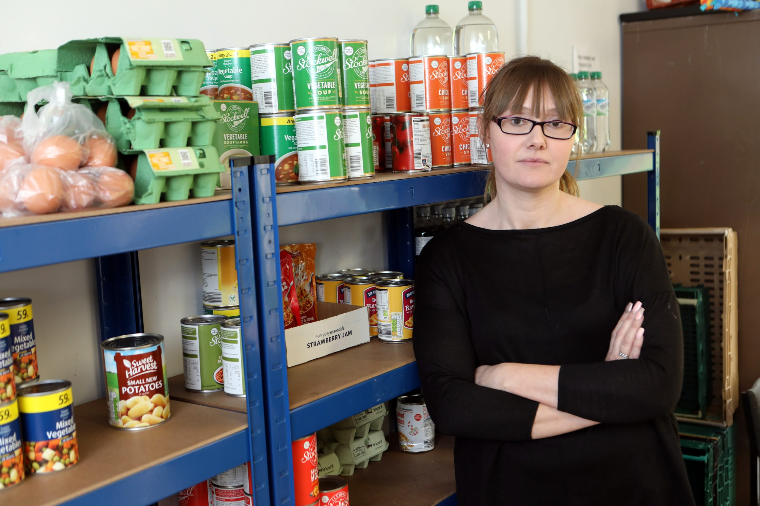 Samantha Bruce of Lochee Community Larder