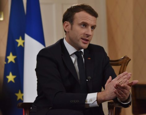 The French president, Emmanuel Macron, has warned the coronavirus crisis could drive other countries to vote to leave the EU.