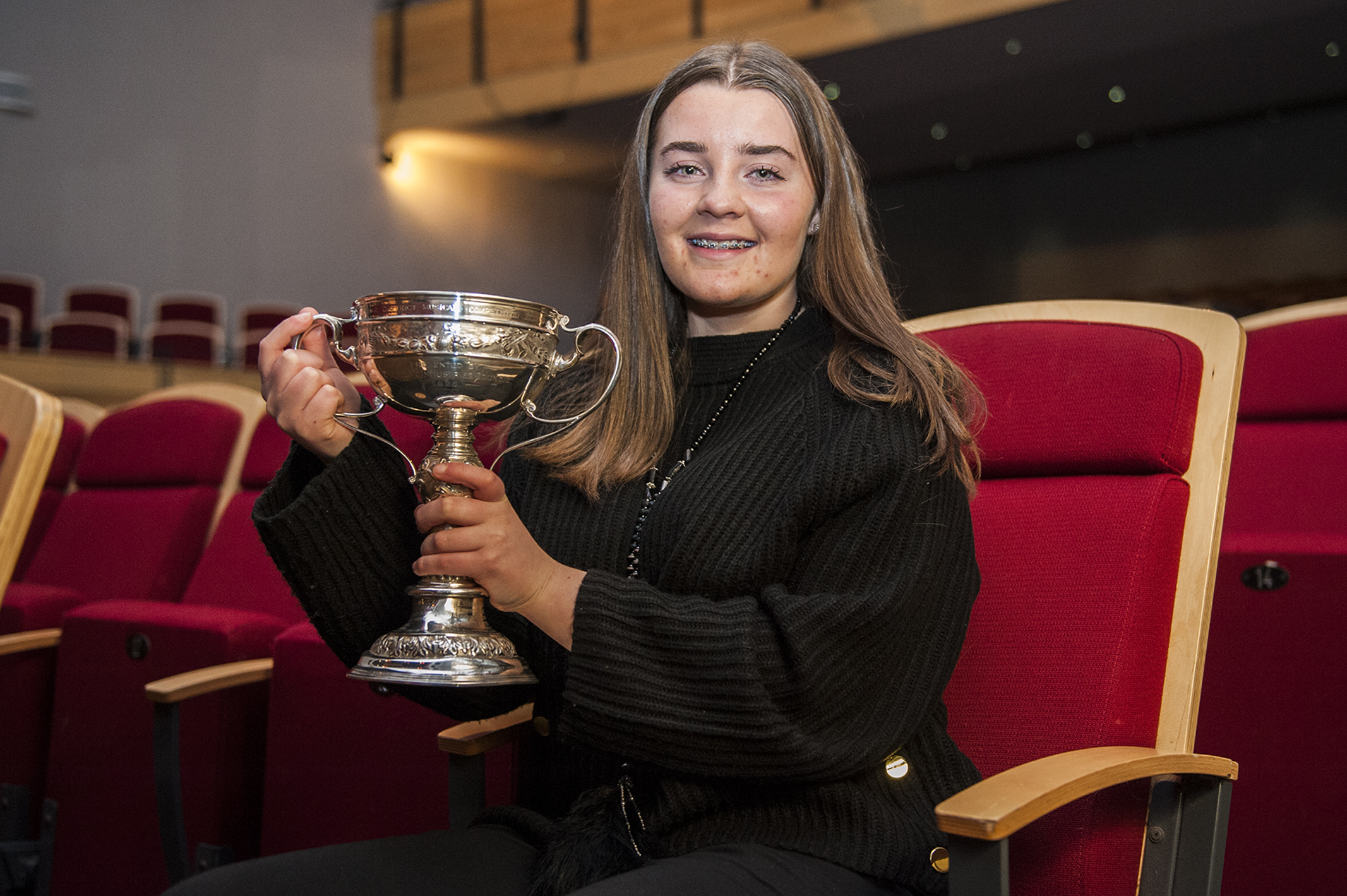 Megan Cant was the winner of the 2020 festival's top award, the Blue Riband.