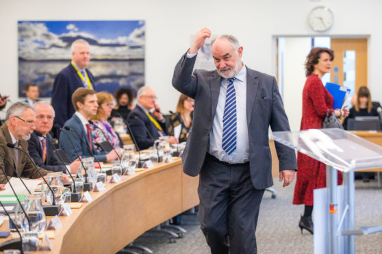 Perth and Kinross Council Leader Murray Lyle