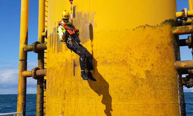 Pict Offshore has developed a safer access system for offshore wind turbines.
