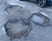 Spending on pothole repairs has gone down over five years.