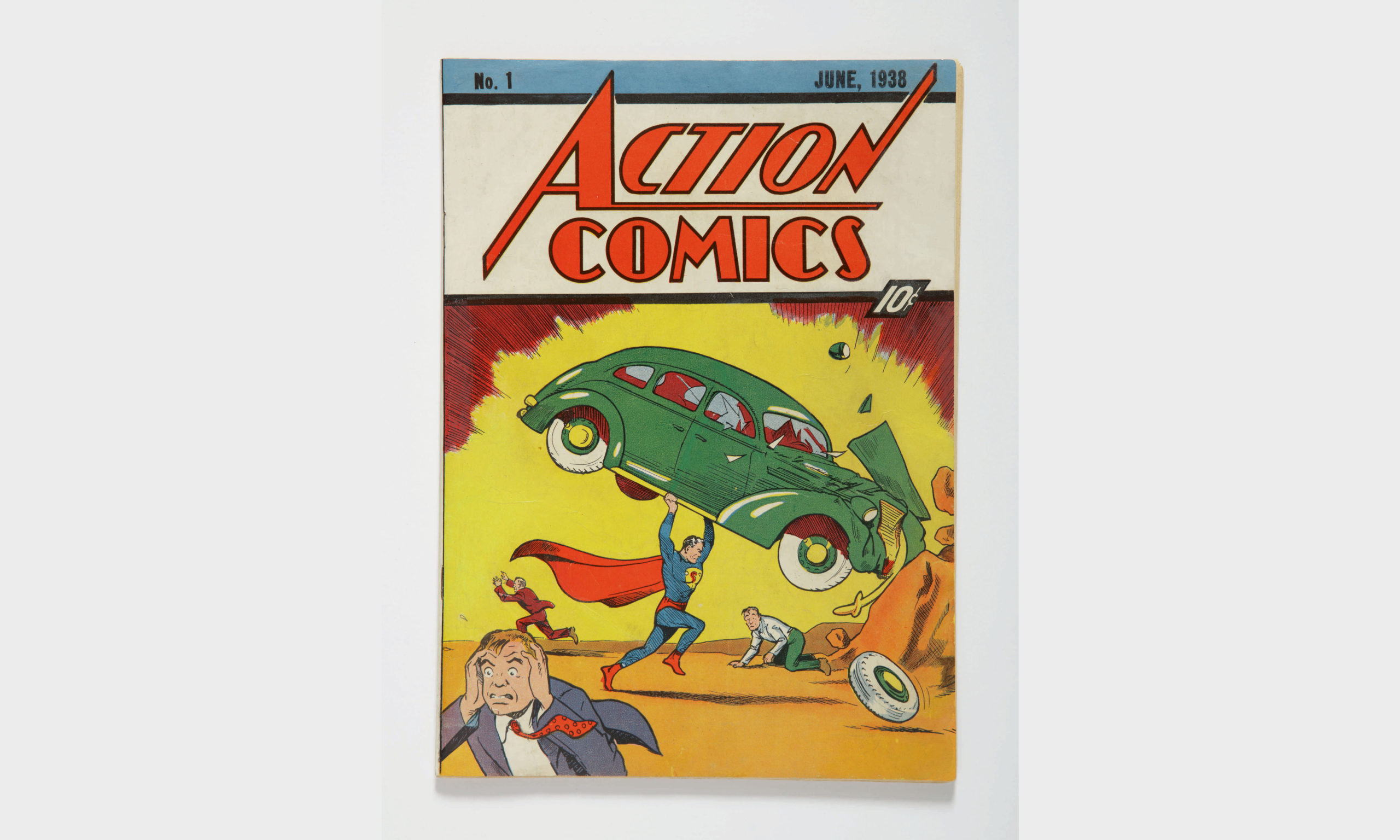 Action Comics no.1, the first appearance of Superman, June 1938