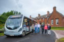 Auchterarder's Community Bus Service is one of the routes which has stopped.