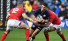Scotland's Adam Hastings in action against Wales in the 2019 Six Nations clash.