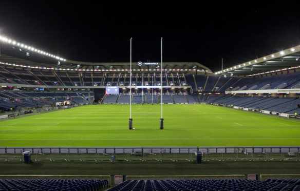 Murrayfield is due to host Scotland vs France on Sunday
