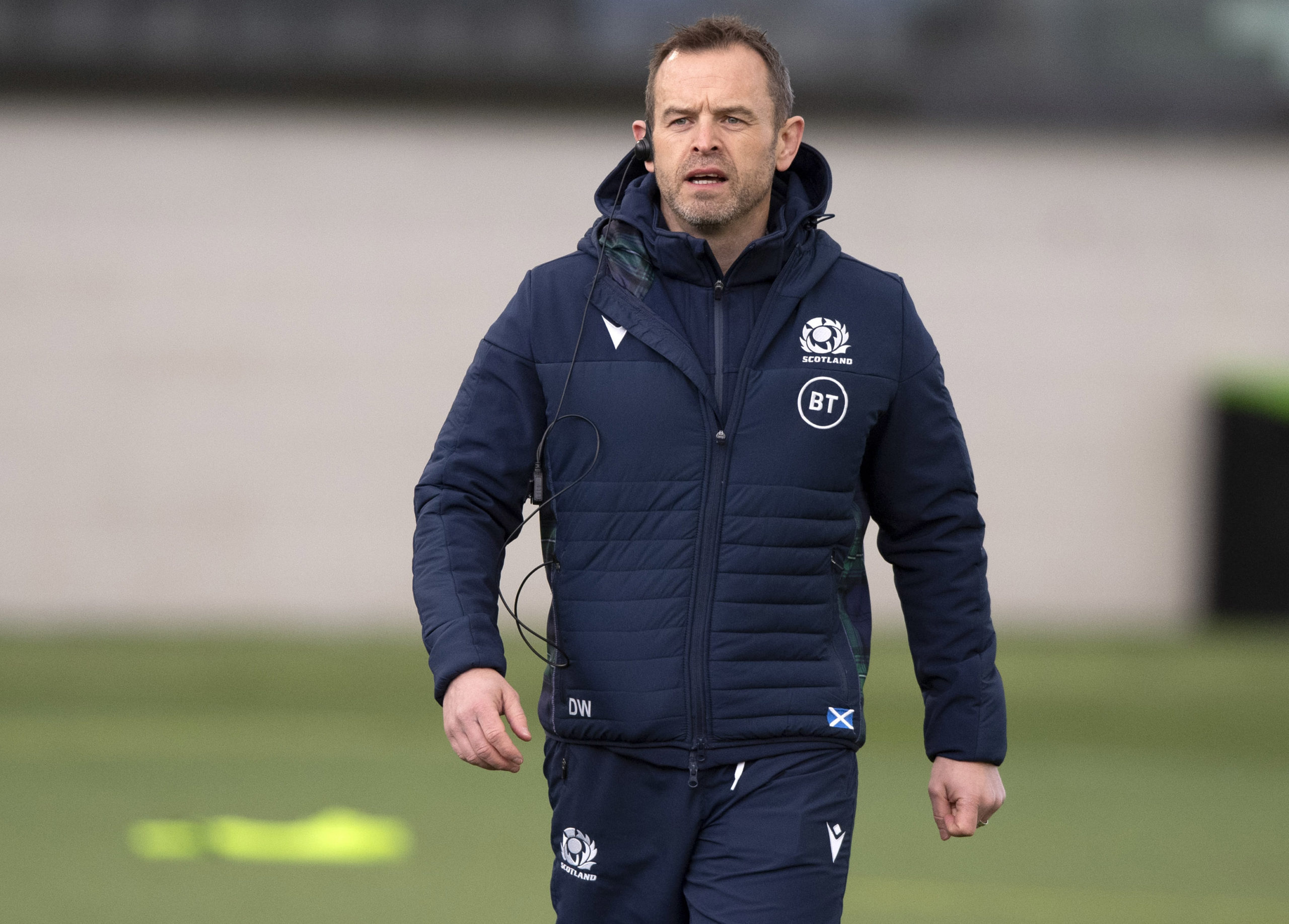 Glasgow head coach Danny Wilson.