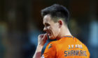 Lawrence Shankland of United at full-time.