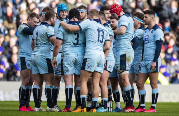 Scotland showed signs of real direction at last against France.