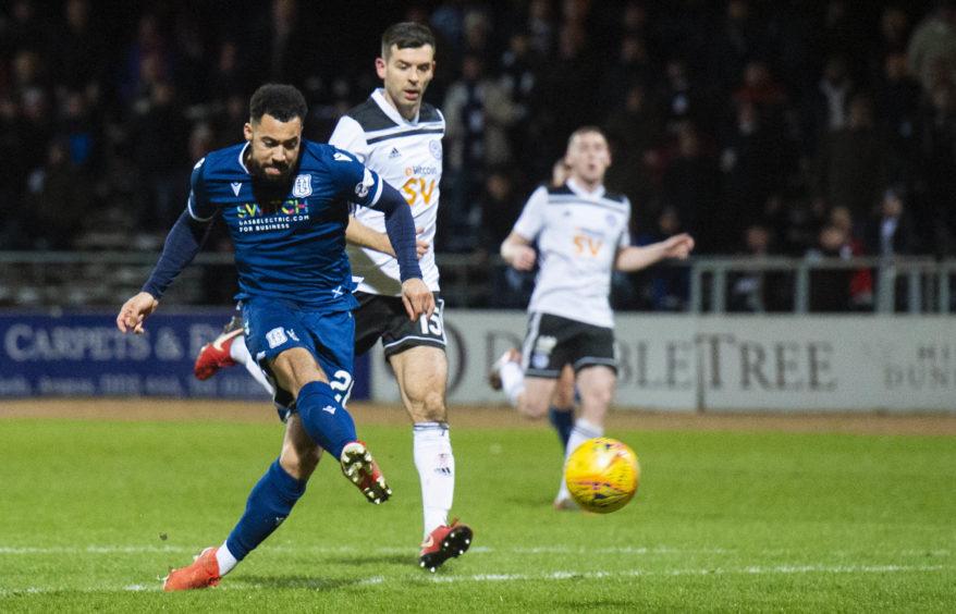 Kane Hemmings left Dundee this summer.